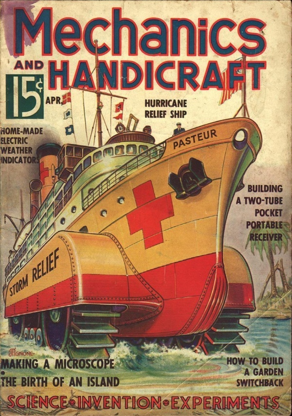 Mechanics And Handicraft April 1936