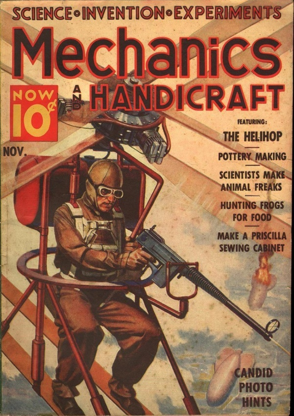 Mechanics And Handicraft November 1938