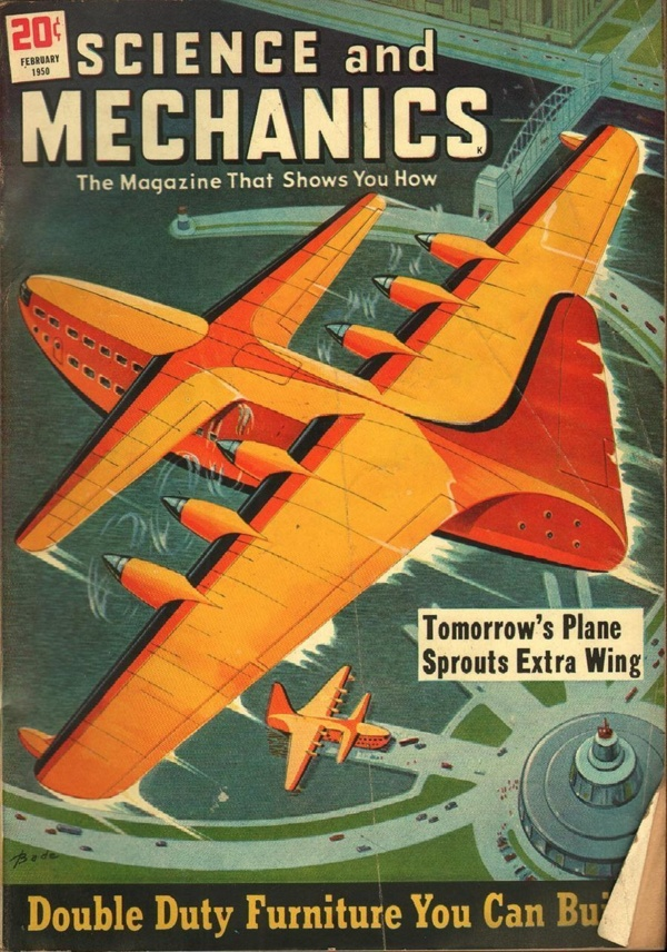 Science and Mechanics February 1950
