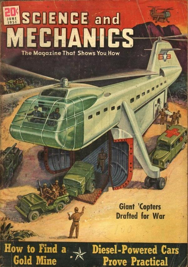 Science and Mechanics June 1951