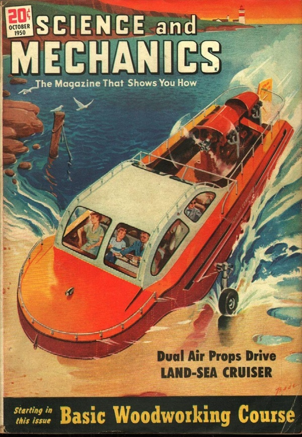Science and Mechanics October 1950