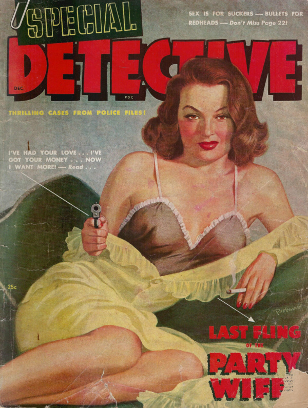 Special Detective December 1948