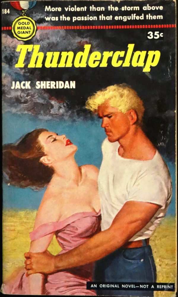 Gold Medal 184 Paperback Original  (1951).  Cover Art is Uncredited
