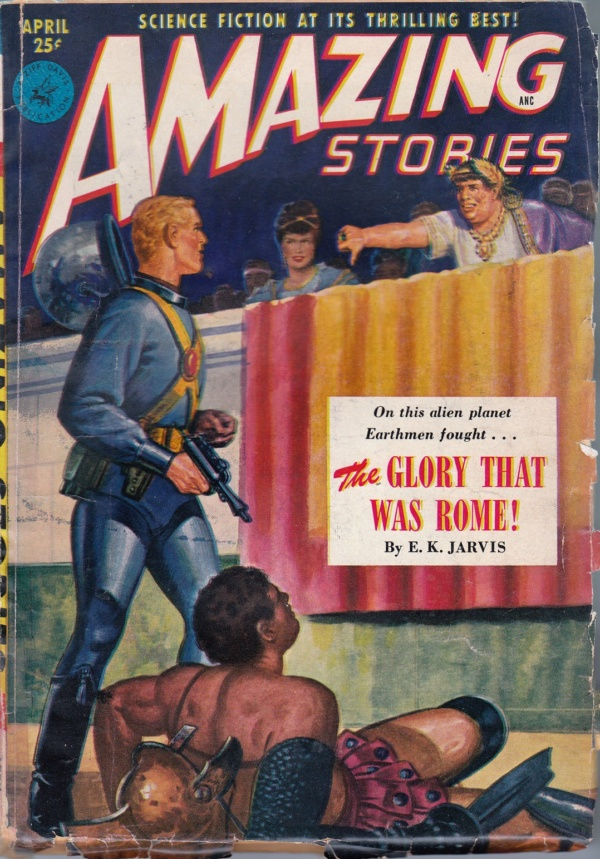 AMAZING STORIES April 1951