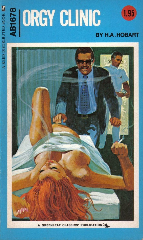 Adult Books AB1678 - Orgy Clinic (1973)