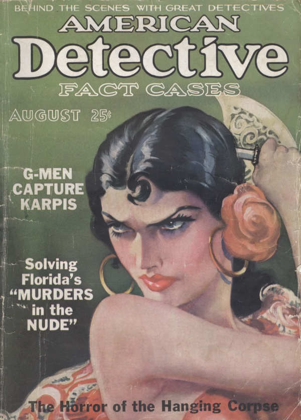 American Detective August 1936