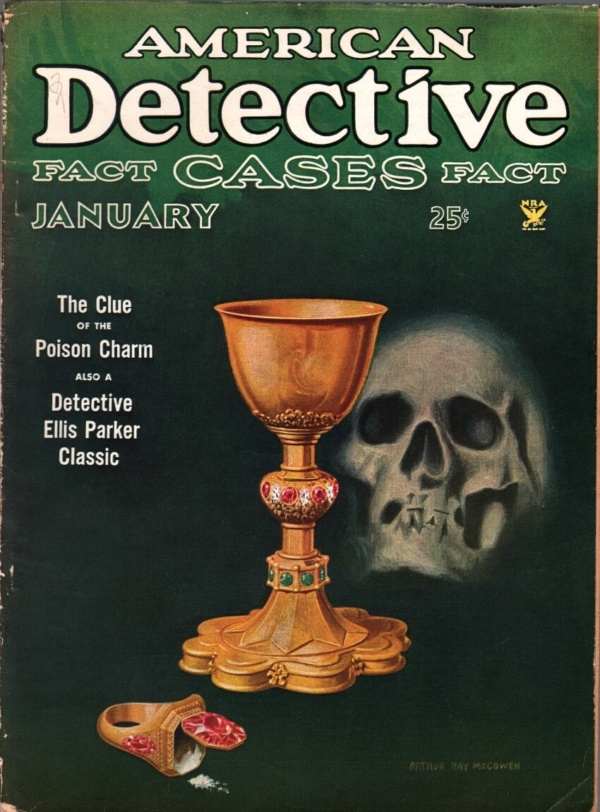 American Detective January 1935