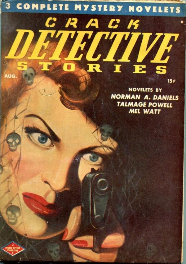 Crack Detective Stories August 1947