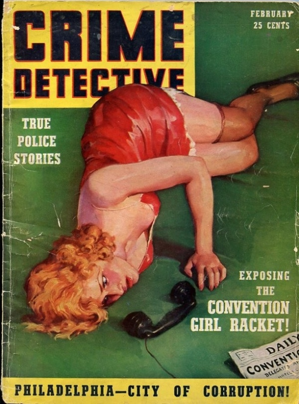 Crime Detective February 1939