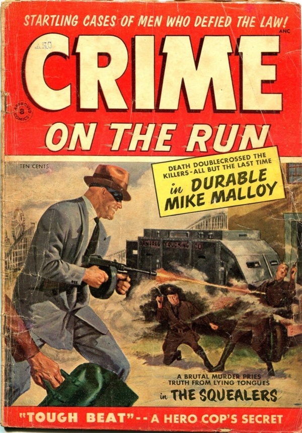 Crime On The Run 1954