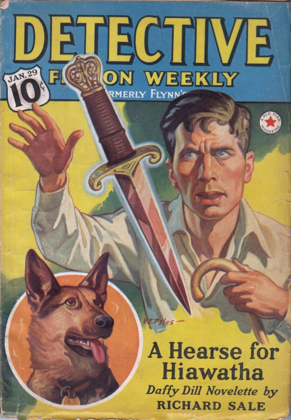DETECTIVE FICTION WEEKLY January 29, 1938