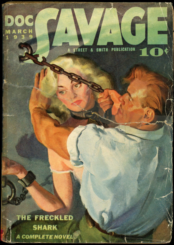 DOC SAVAGE. March, 1939