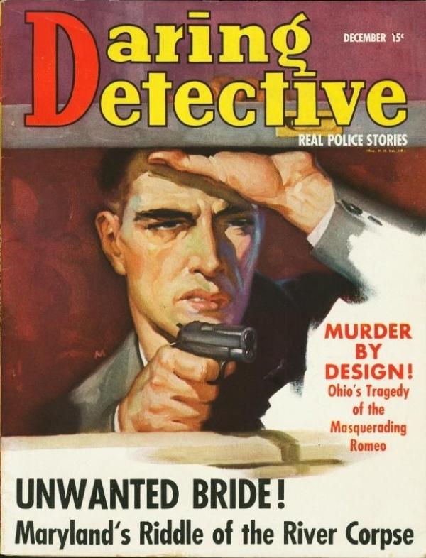 Daring Detective December 1938