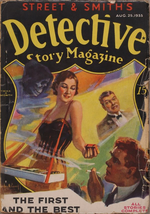 Detective Story Magazine August 25 1933