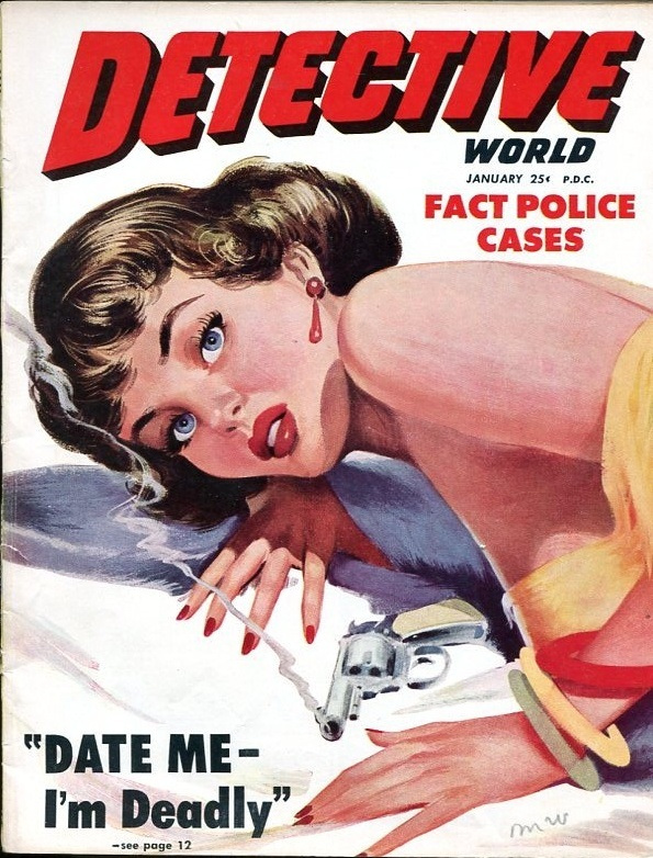 Detective World January 1951