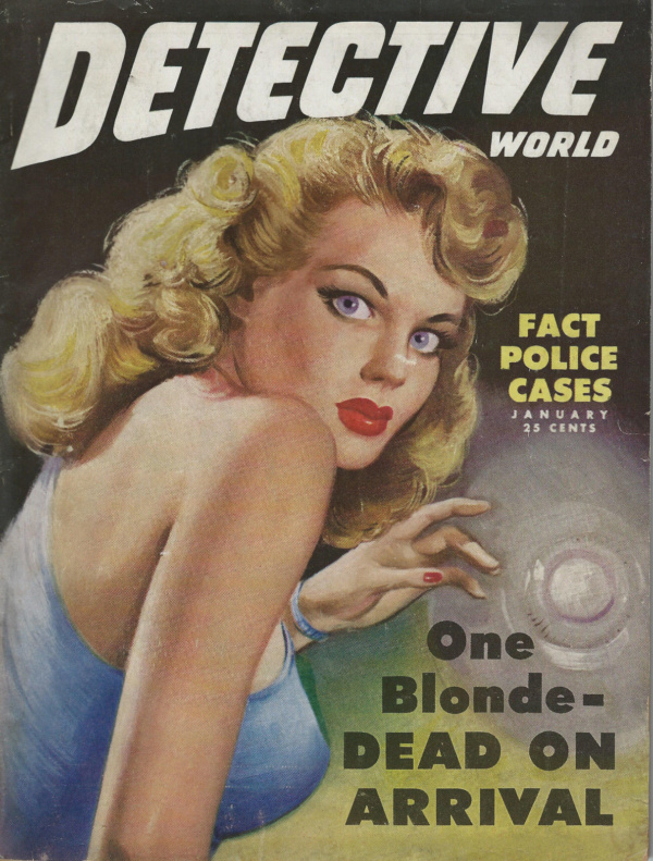 Detective World Magazine January 1949