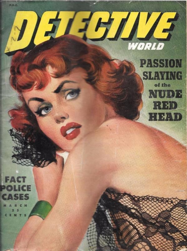 Detective World Magazine March 1950