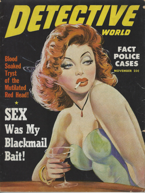 Detective World November 1949