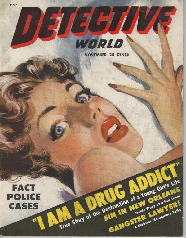 Detective World November 1952