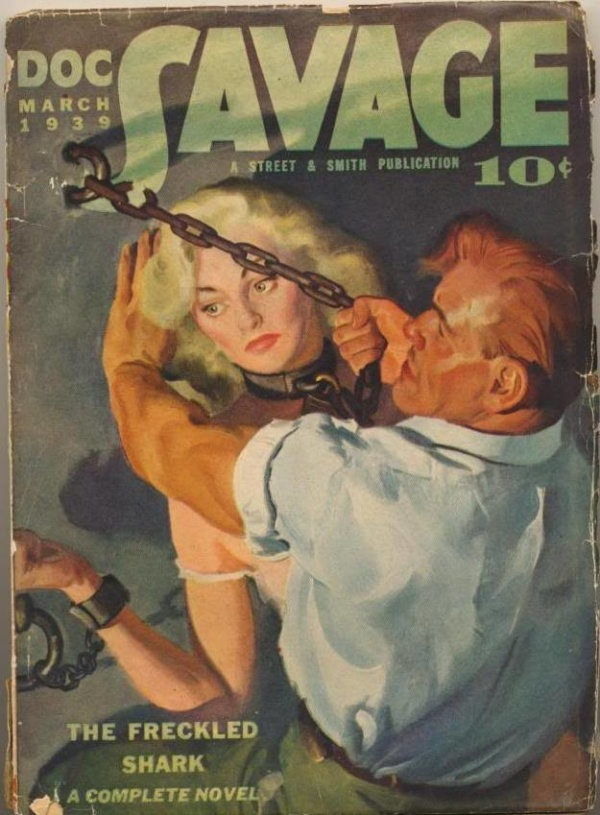 Doc Savage March 1939