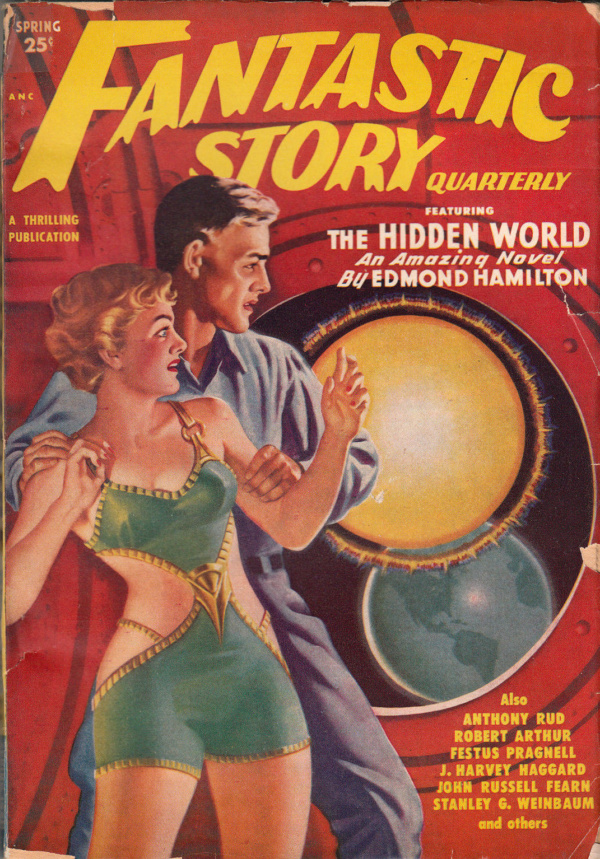 FANTASTIC STORY QUARTERLY Spring 1950