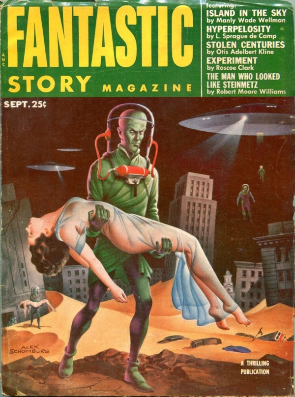 Fantastic Story September 1953