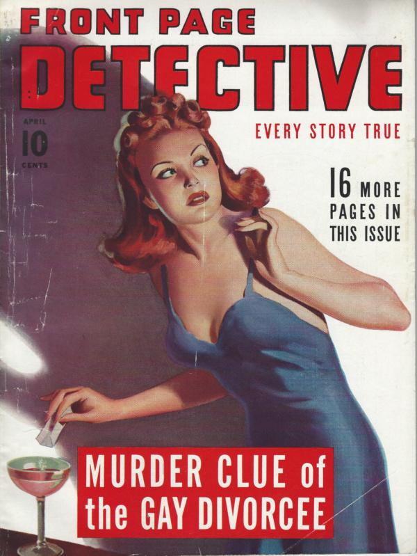 Front Page Detective April 1942