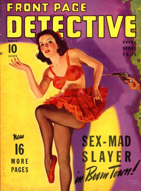 Front Page Detective Magazine 1942 March