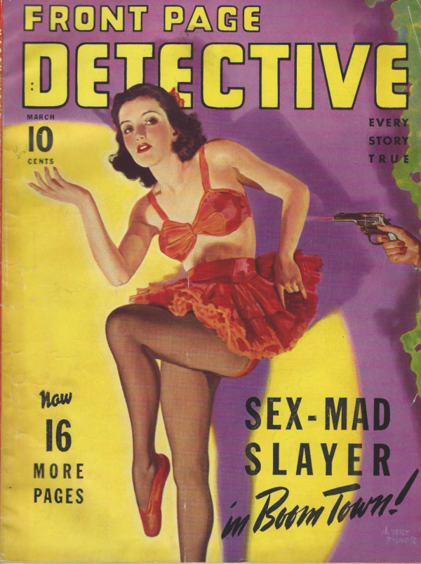 Front Page Detective March 1942