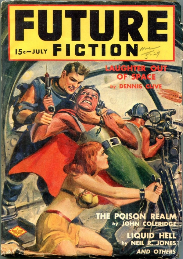 Future Fiction July 1940