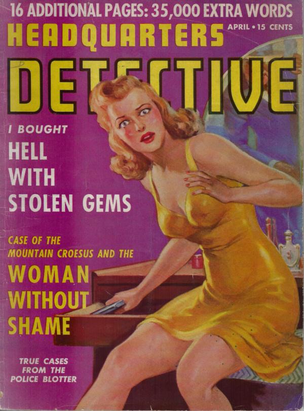 Headquarters Detective April 1942