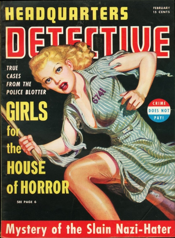 Headquarters Detective February 1941
