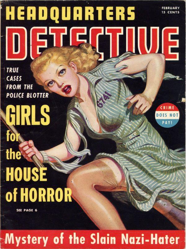 Headquarters Detective Magazine February 1941