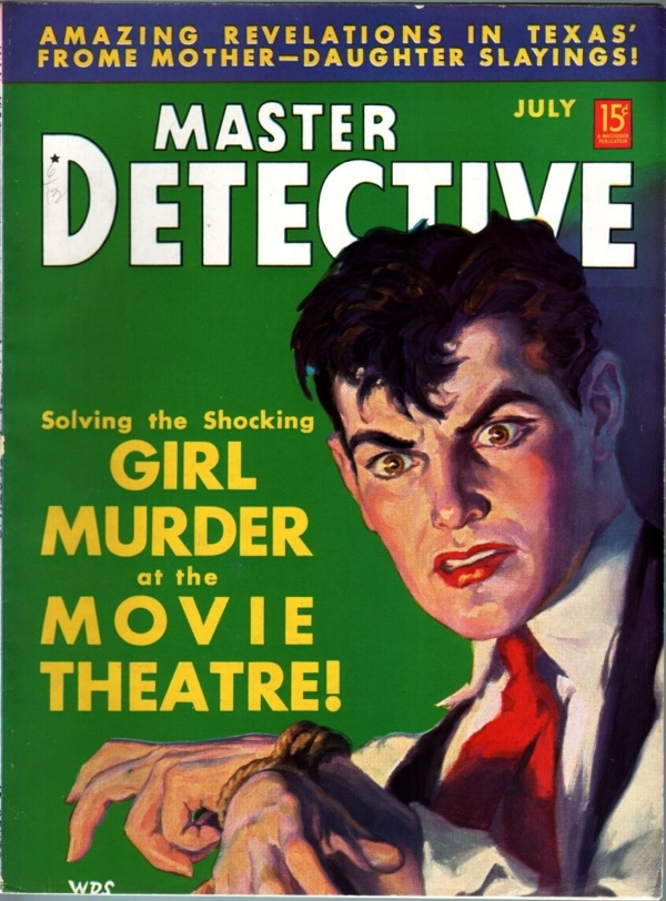 Master Detective July 1938