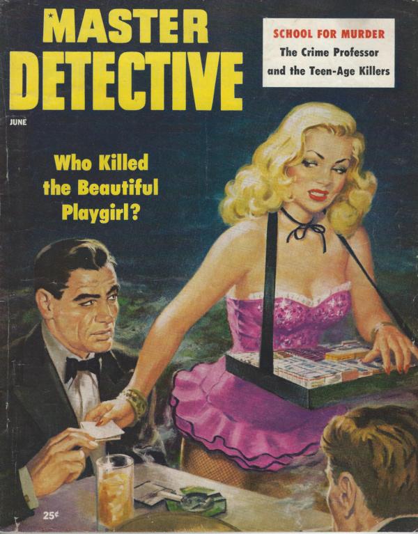 Master Detective June 1954