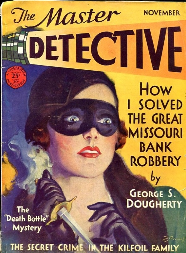Master Detective November 1931