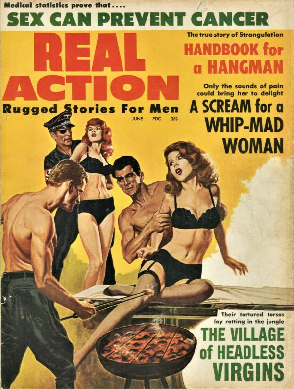 Real Action Magazine June 1963