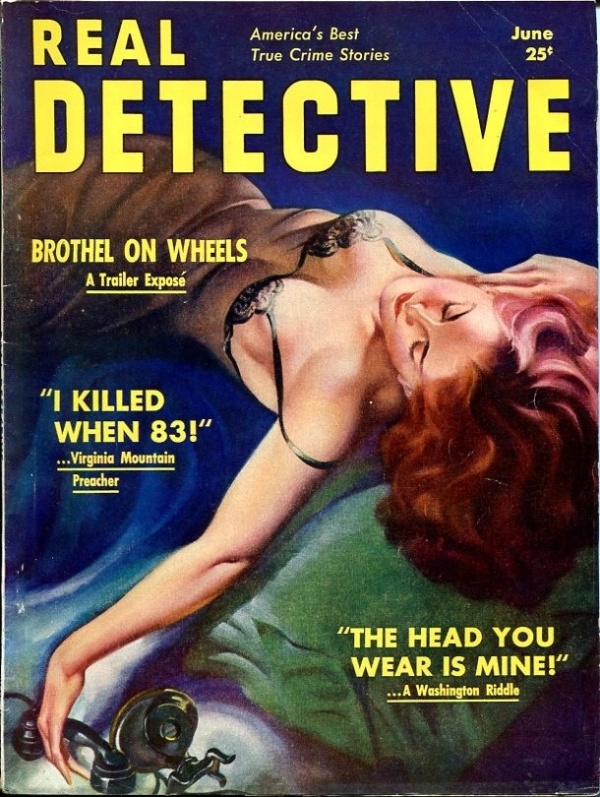 Real Detective June 1939
