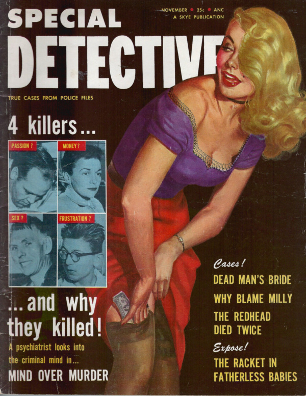 Special Detective November 1955
