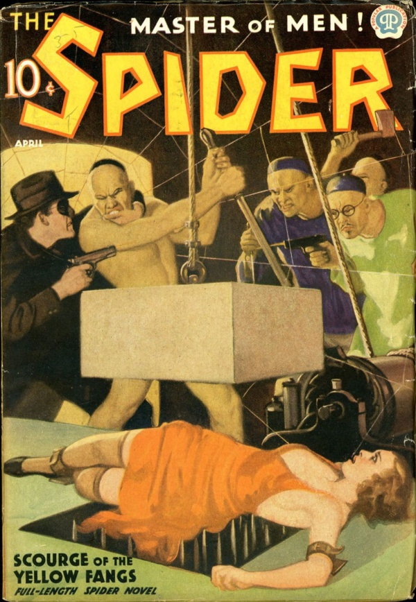 THE SPIDER. April, 1937