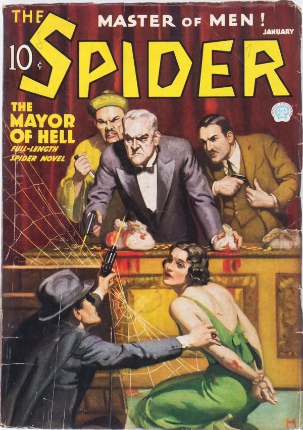 The Spider - January 1936