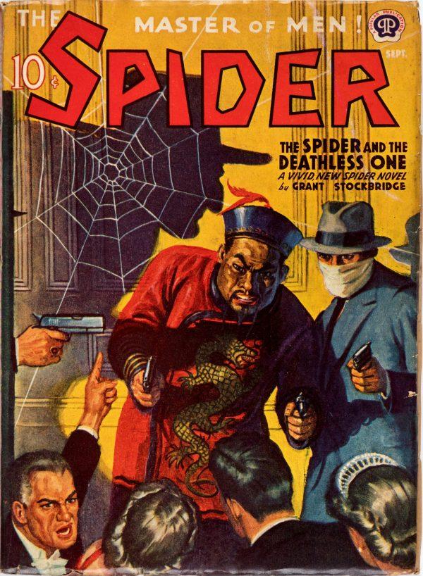 The Spider - September 1941