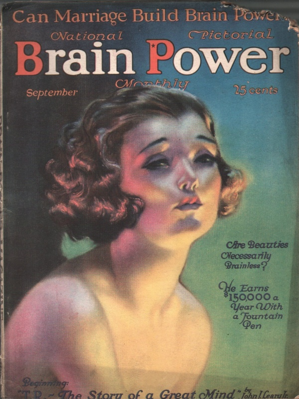 Brain Power September 1921