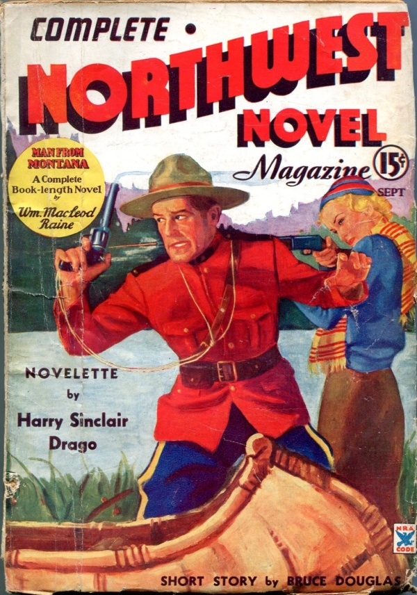 Complete Northwest Novel No.1 September 1935
