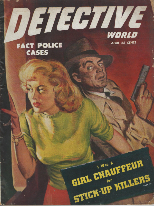 DETECTIVE WORLD April 1949