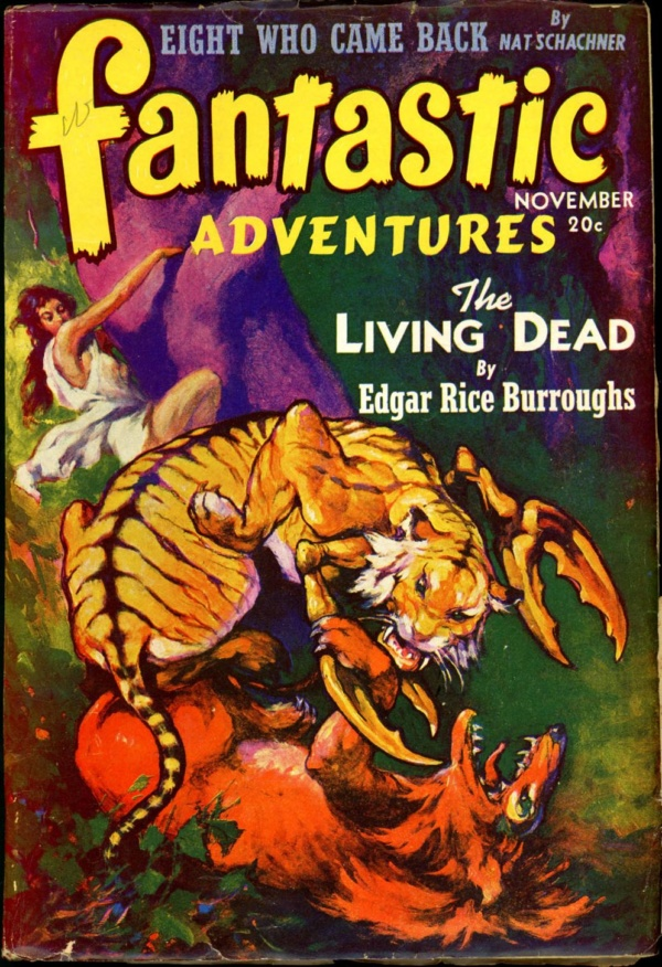 FANTASTIC ADVENTURES. November, 1941