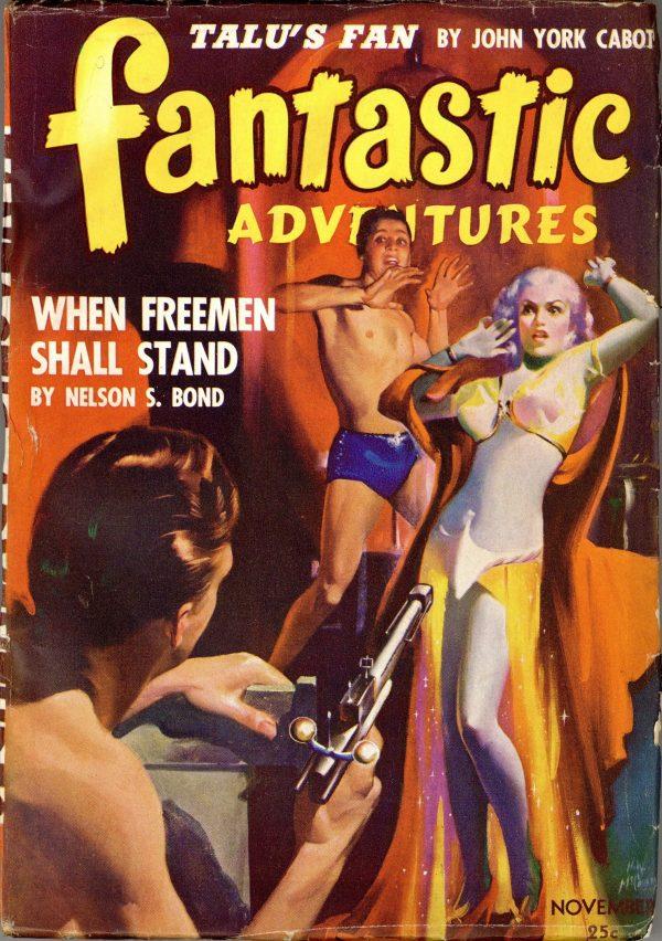 Fantastic Adventures Pulp November 1942