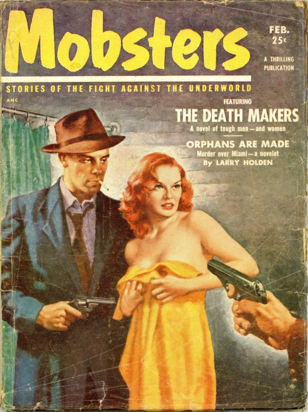 Mobsters Magazine February 1953