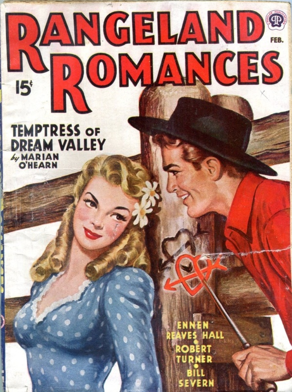 Rangeland Romances February 1945