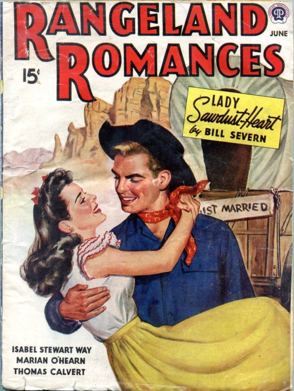 Rangeland Romances June 1945